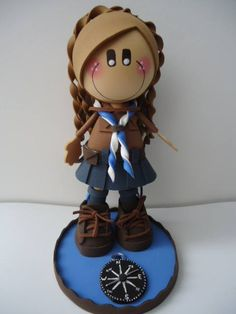 Scouts, Personalized Wedding, Biscuit, Cake Decorating, Dolls, Crafts, Doll Hair, Doll Shoes, Yarn Dolls
