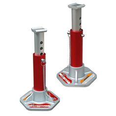 Torin T43004 Aluminum Jack Stands - 3 Ton, 1 pair
