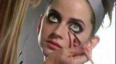 make up dark eyes.   Haidee