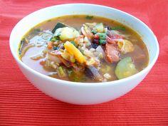 rezept vegan dinkel-gemüsesuppe suppe