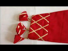 Beautiful Sleeves Design with gotta Patti//gotta Patti sleeves design// Punjabi Suit Neck Designs, Neck Designs For Suits, Kurti Neck Designs, Kurti Designs Party Wear, Dress Neck Designs, Sleeve Designs, New Embroidery Designs, Embroidery Suits, Embroidery Fashion