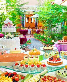 デザートビュッフェの一番人気はティラミス!