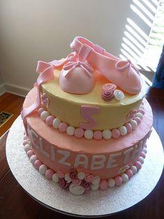 Ballet slipper Cake