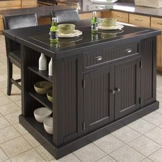 Found it at Joss & Main - 3-Piece Nanette Kitchen Island Set