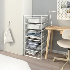 JONAXEL Frame with wire baskets, 19 It can be difficult to keep things neat and tidy. JONAXEL storage system lets you utilize the spaces you have in smarter ways. Neat And Tidy, Tidy Up, Ikea Canada, White Chest Of Drawers, Grande Armoire, Basket Drawers, Drawer Unit, Wire Baskets, Closet Storage