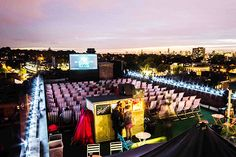 For the best places to see open-air movies in 2019 in London check out Time Out's guide to the latest outdoor film screenings Fresco, Cinemas In London, Air Movie, Milan, July Events, Dallas Buyers Club, Ville New York, Empire Records, Fools And Horses
