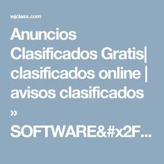 Anuncios Clasificados Gratis| clasificados online | avisos clasificados » SOFTWARE/SISTEMA DE FACTURACION BASICO ADAPTABLE P/EMP.,NEGOCIOS