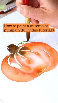 Watercolor Paintings For Beginners, Watercolor Art Lessons, Watercolour Tutorials, Watercolor Techniques, Painting Tips, Watercolour Painting, Abstract Watercolor Tutorial, Watercolor Poppies, Autumn Art