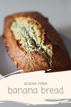 This easy, delicious banana bread is my sugar free version and just as good! Sugar Free Banana Bread, Make Banana Bread, Banana Bread Recipes, Sugar Free Baking, Sugar Free Recipes, Family Meal Planning, Pecan Nuts, Baking With Kids, Toasted Pecans