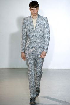 Mugler Spring 2013 Menswear Collection on Style.com: Complete Collection