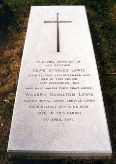 Visit C.S. Lewis' grave at Holy Trinity Church, Headington, Oxfordshire, England