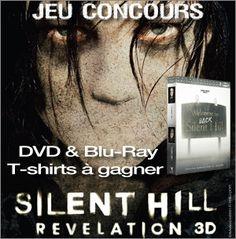 A l'occasion de la sortie de #SILENTHILL : REVELATION 3D en vidéo le 28 mars, #BrainDamaged et Metropolitan Filmexport vous proposent de jouer pour gagner des  Packs Blu-Ray , DVD et des T-Shirts du film.