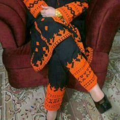 Typical Balochi Embroidery