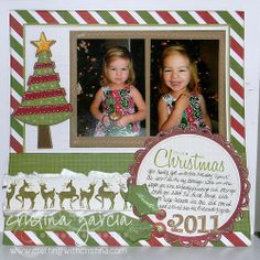 scrapbook christmas layouts | Christmas Layout Scrapbook Page | holiday layouts