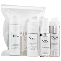 Shop Ouai's All the Ouai Up Kit at Sephora. A set to lift and add shine to flat hair, build incredible volume and texture, and extend your style.