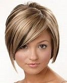 Short Haircuts For Round Faces And Plus Size - Bing Images