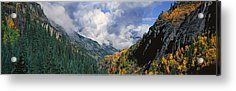 Engineer Pass, Colorado Acrylic Print by Panoramic Images