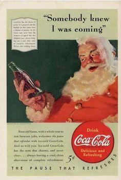 Coca-Cola Santa Claus 1931 – 1949