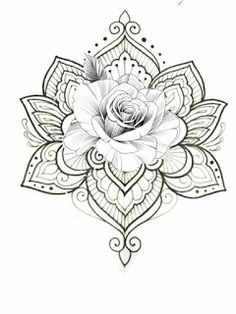 White background Tattoo for man and woman Mandala Tattoo – Fashion Tattoos Rose Tattoos, Leg Tattoos, Arm Tattoo, Body Art Tattoos, Sleeve Tattoos, Tattoos For Guys, Tattoos For Women, Henna Tattoos, Paisley Tattoos