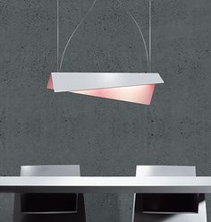 'Papier' pendant lamp by Fabrice Berrux for Dix heures dix