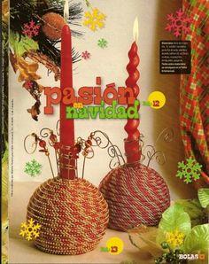 PASIÓN EN NAVIDAD Christmas Decorations, Christmas Ornaments, Holiday Decor, Home Decor, Christmas Decor, Merry Christmas, Christmas Traditions, Chandeliers, Candles