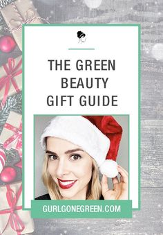 Shop all my favorite products from skincare to makeup in green beauty!