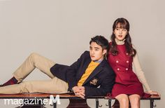 Do Kyungsoo & Kim So-Hyun for Magazine M Vol.152
