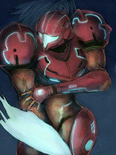 Metroid Samus fan art