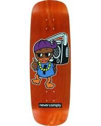 Skateboard Deck Street Plant Duck - Orange