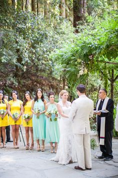 California Outdoor Wedding: Santa Cruz Mountains