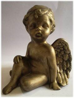 Ceramic Angel Child Dimensions +/-: 150 x 132 x 120 (mm) : x x (inch) Weight +/-: 360 g : ounces Garden Sculpture, Lion Sculpture, Ceramic Angels, Arts And Crafts, Ceramics, Statue, Ornaments, Children, Outdoor Decor