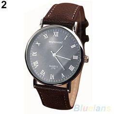 Bluelans Roman Numerals Business Watch