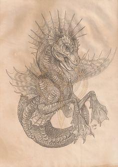 Hippocampus by ~akeyla on deviantART