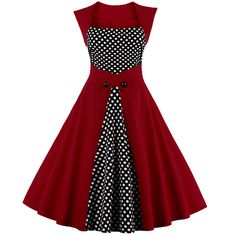 #Buy latest 1950'S #RETRO #POLKA DOT #DRESS (M3934593) at best price from Corset Dresskart.#Order now:- http://www.corsetdresskart.com/Dresses/1950's-Retro-Polka-Dot-Dress-M3934593