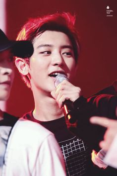 Chanyeol - 160623 Mnet M! Countdown Credit: ChanRyeoli. (엠넷 엠! 카운트다운)