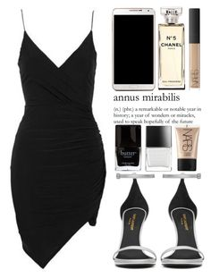 July 5th, 2016 by asrdiniz on Polyvore featuring moda, Topshop, Yves Saint Laurent, NARS Cosmetics, Chanel, Butter London and Samsung