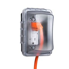 Taymac MM410C Weatherproof Single Outlet Cover Outdoor Re...