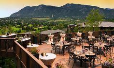 Beautiful wedding and reception venue - Cheyenne Mountain Resort - Colorado Spring, CO | Such a pretty resort for various types of Weddings.