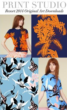 TREND COUNCIL- RESORT 2014 PRINT DIRECTION