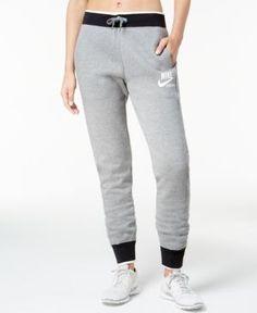 Nike Sportswear Fleece Pants - Gray XS