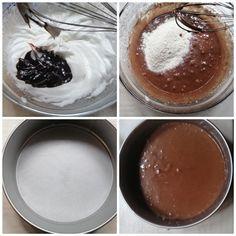 Torta sacher ricetta facile - Blog di Il caldo sapore del sud Chocolate Fondue, Pudding, Ice Cream, Desserts, Blog, Food Cakes, No Churn Ice Cream, Tailgate Desserts, Deserts