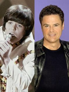 "Donny Osmond~I had the opportunity of seeing The Osmond's at ""COBO HALL"" in Detroit in 1971 Actors Then And Now, Celebrities Then And Now, Donny Osmond, Marie Osmond, Osmond Family, The Osmonds, Child Actors, Raining Men, Yesterday And Today"