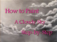 In this video, I'll be showing you how to paint a stormy, cloudy sky with only two colors. This is a good lesson for beginners and up! I'm painting on a 12x1...