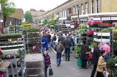 Possibly my favorite London space: Columbia Road Flower Market