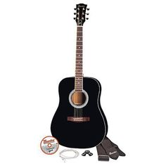 "Maestro by Gibson 41"" Full Size Acoustic Guitar Kit - Natural Finish 