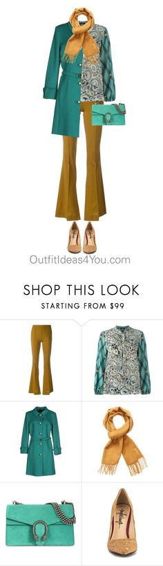 """""""How To Wear Camel For A Pure Spring"""" by jen-thoden ❤ liked on Polyvore featuring Erika Cavallini Semi-Couture, Etro, Class Roberto Cavalli, Yves Saint Laurent, Gucci and TaylorSays"""