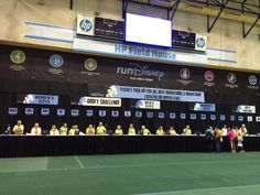 Inside the HP Field House during the runDisney Health & Fitness Expo at ESPN Wide World of Sports at Walt Disney World http://www.runnersguidetowdw.com/