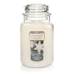 Sparkling Snow™ Large Classic Jar Candles Quick View