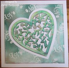 Crafty Mrs P: Love themed Clarity Challenge