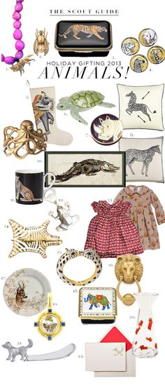 The Scout Guide  Call of the Wild: Animal Themed Gifts